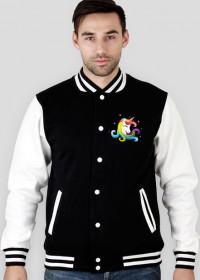 Bluza bejsbolówka z jednorożcem