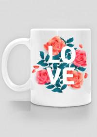 Kubek LOVE kawiaty