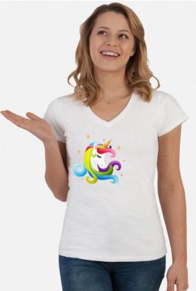 Nietypowe t-shirty - T-shirt z jednorożcem