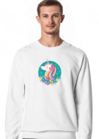 Bluza z jednorożcem - Jednorożec w okręgu