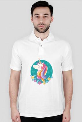 Koszulki polo - Jednorożec w okręgu