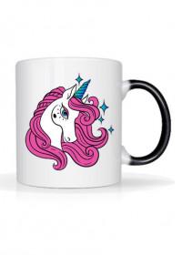 Magiczne kubki - Kubek Unicorn z gwiazdkami