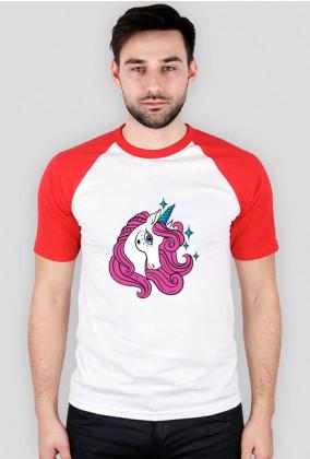 Koszulka baseball - Jednorożec z gwiazdkami