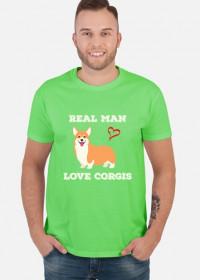 Prawdziwy facet kocha Welsh Corgi