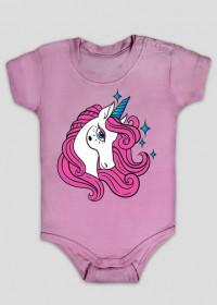 Body dla niemowląt z jednorożcem z gwiazdkami