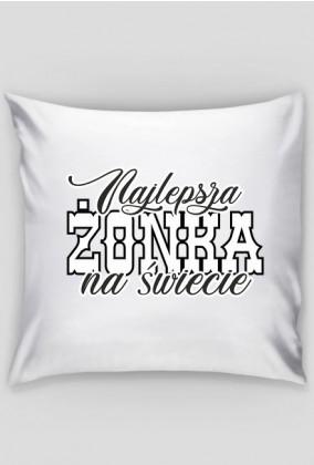 Poduszka Najlepsza żonka na świecie