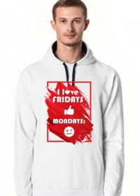 #loveweekend hoodie