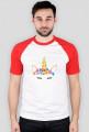 Koszulka bejsbolówka - Jednorożec ze złotym rogiem