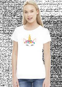 Super koszulki - Jednorożec ze złotym rogiem