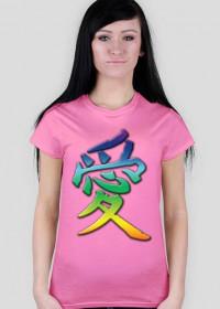 Znak miłości koszulka dla niej