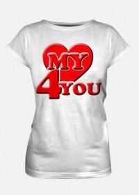My heart for you koszulka 2
