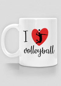 I love volleyball - kubek