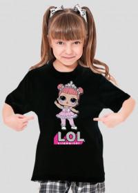 Koszulka dziecięca - LOL - STYLOWAKOSZULA.CUPSELL.PL – KOSZULKI I KUBKI NA PREZENT, NIETYPOWE I SMIESZNE KOSZULKI