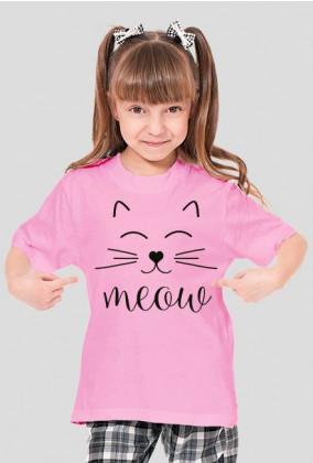 KOSZULKA DZIEWCZĘCA CAT MEOW