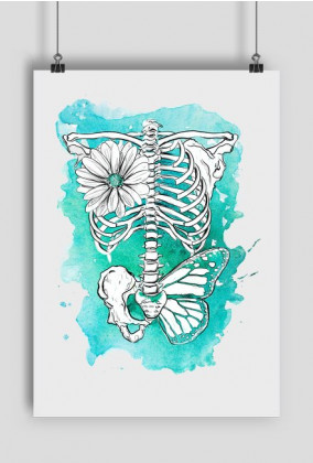 Plakat   Skeleton