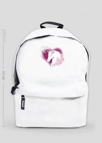 Plecak jednorożec mały - Jednorożec w sercu