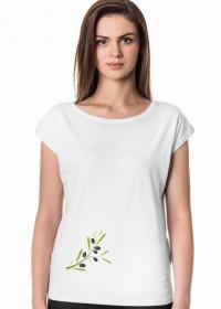 Koszulka z gałązka oliwną