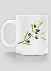 Kubek z gałązką oliwną