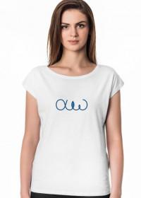 Koszulka damska z alfa i omega