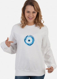Bluza damska z greckim okiem