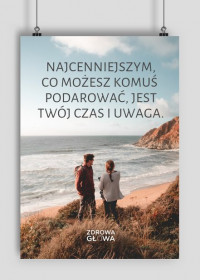 CZAS I UWAGA - plakat A2