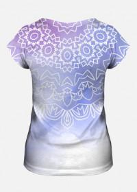 Mandala bluzka joga