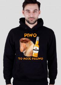 Bluza z kapturem - Piwo to moje paliwo