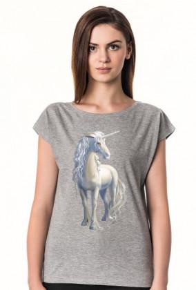 Modne t-shirty - Piękny jednorożec