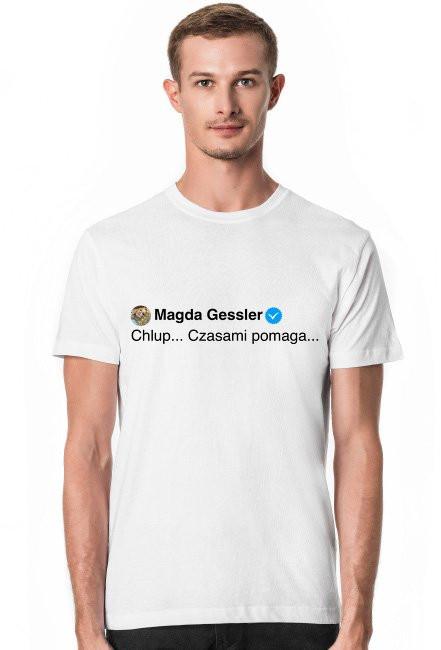 Chlup... / Magda Gessler / t-shirt slim