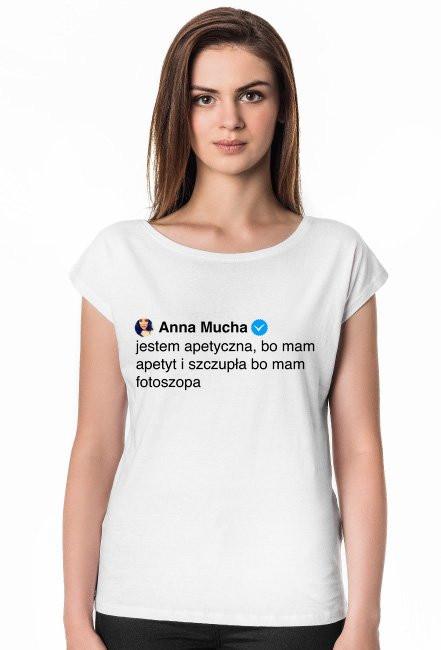Jestem apetyczna / Anna Mucha / t-shirt regular