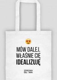 IDEALIZACJA - torba biała