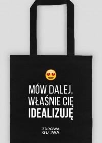 IDEALIZACJA - torba czarna
