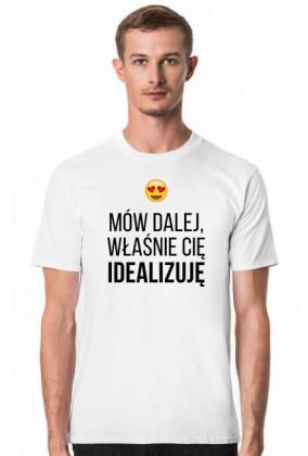 IDEALIZACJA - koszulka męska