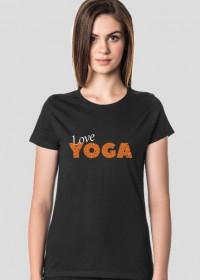 Joga bluzka love yoga cz