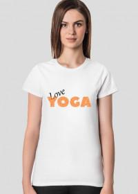 Joga bluzka love yoga b