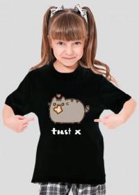 """dziecięcy T-shirt """"Pusheen"""" Wzór 2 (Damski)"""