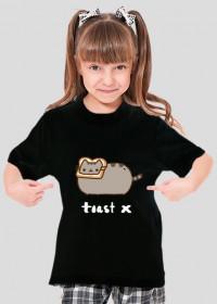 """dziecięcy T-shirt """"Pusheen"""" Wzór 1 (Damski)"""