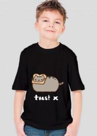 """dziecięcy T-shirt """"Pusheen"""" Wzór 1 (męski)"""
