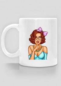 CUP POP ART GIRL