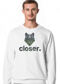 Bluza męska Geometric Wolf