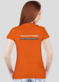 Koszulka damska Transportnews