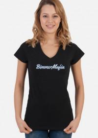 BimmerMafia (woman v-neck t-shirt)