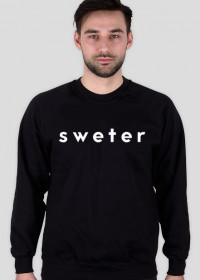 sweter original for men #1 black/white