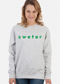 sweter original for women #1 gray/green