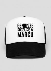 czapka z daszkiem geniusze rodzą się w marcu