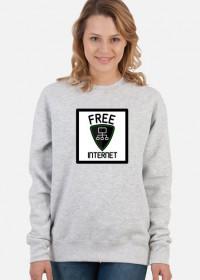 Free Internet (bluza damska klasyczna)