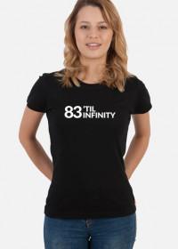 83 'TIL INFINITY / dziewczyny / (czarna)
