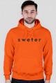 sweter original for men #2 orange/white sweter original for men #2 orange/black