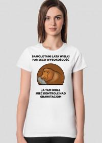 Koszulka damska, Samolotami lata wielki pan jego wysokość