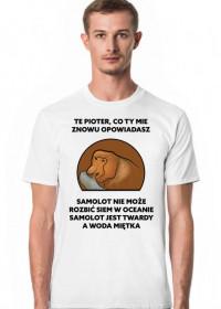 Koszulka męska, Te Pioter co ty mie znowu opowiadasz